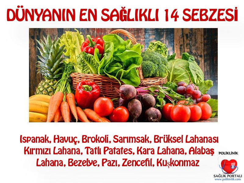 Dünyanın En Sağlıklı 14 Sebzesi 1