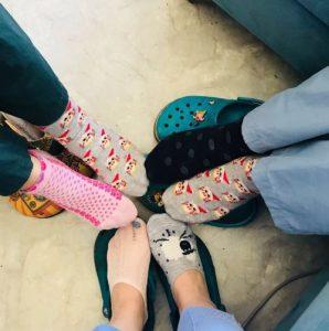 Hekimlerden Çılgın Çorap Kampanyası 1