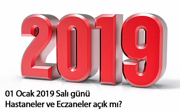 Devlet Hastaneleri 1 Ocak 2019 Salı Açık mı? 11