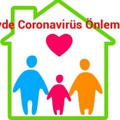 Evde Coronavirüs Önlemleri 8
