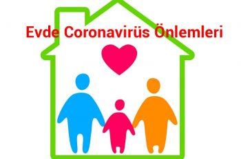 Evde Coronavirüs Önlemleri 2