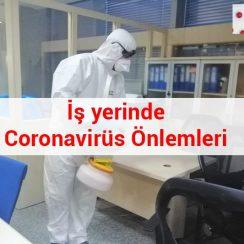 İş yerinde Coronavirüs (Covid-19) Önlemleri 7