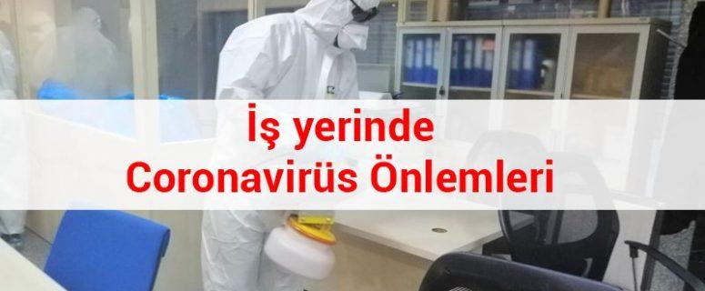 İş yerinde Coronavirüs (Covid-19) Önlemleri 2