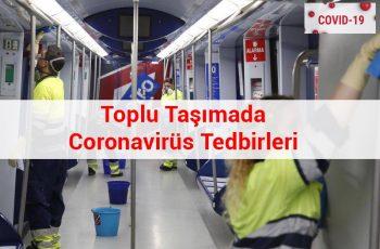Toplu Taşımada Coronavirüs Tedbirleri 2