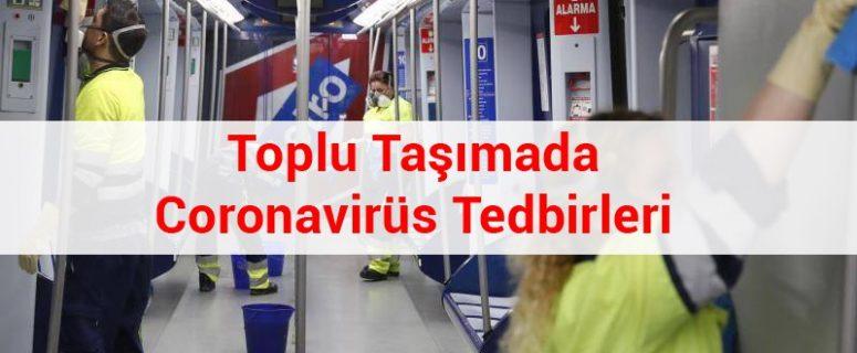 Toplu Taşımada Coronavirüs Tedbirleri 1